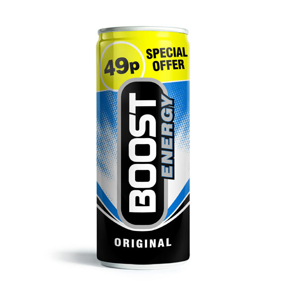 Boost Energy Regular 24x250ml PM49p