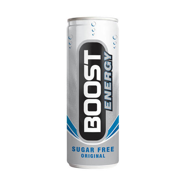 Boost Energy Sugar Free 24x250ml